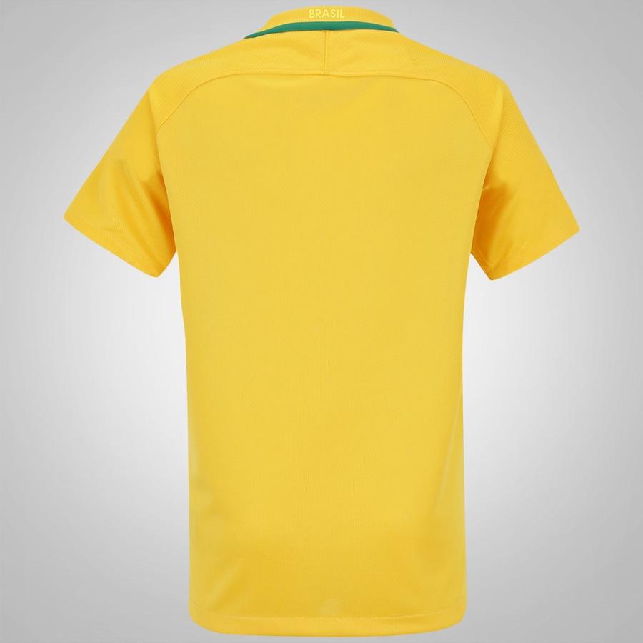 Camisa do Brasil I 2016 Nike - Juvenil ed478c00769