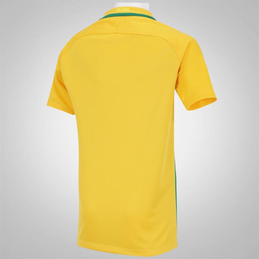 Camisa do Brasil I 2016 Nike - Juvenil 8ce901c59a88b