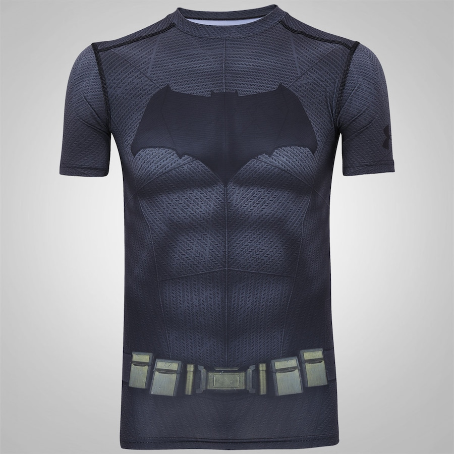 7b122e6b627 Camiseta de Compressão Under Armour Batman - Masculina