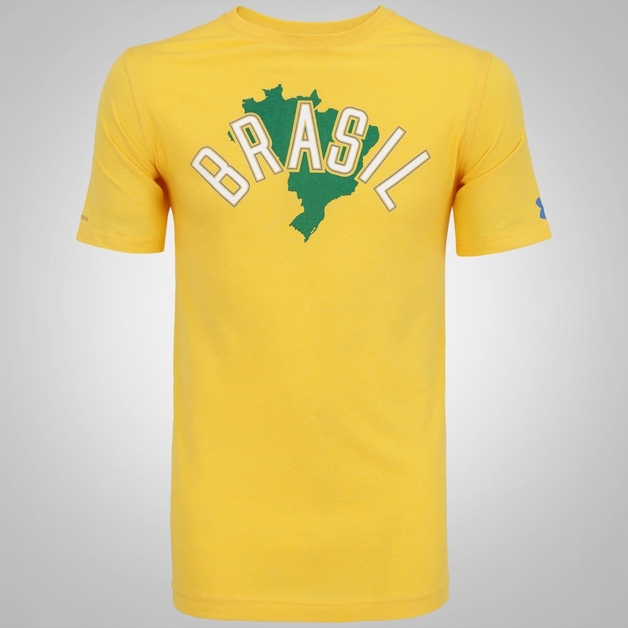 e5b3371982f Camiseta Under Armour Brasil Tri-Blend - Masculina