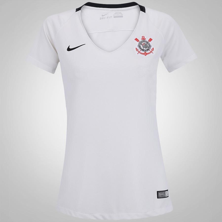 Camisa do Corinthians I 2016 Nike - Feminina 205ba18a01c2e