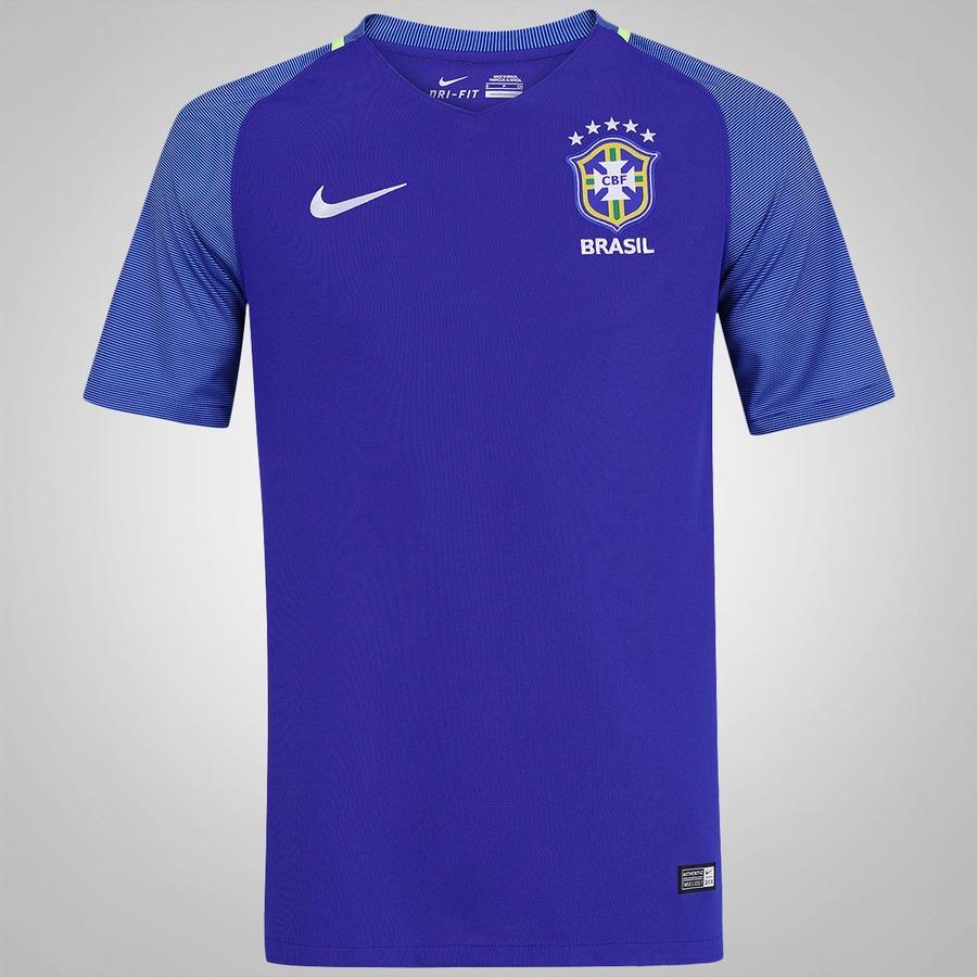 2abe1487e9 Camisa do Brasil II 2016 Nike - Masculina
