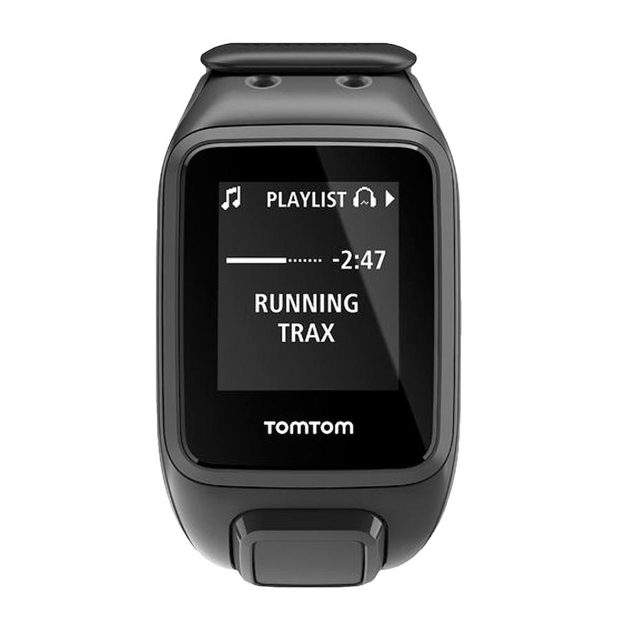 6e954b1a4ba Relógio Monitor Cardíaco TomTom Runner 2 Music - Adu