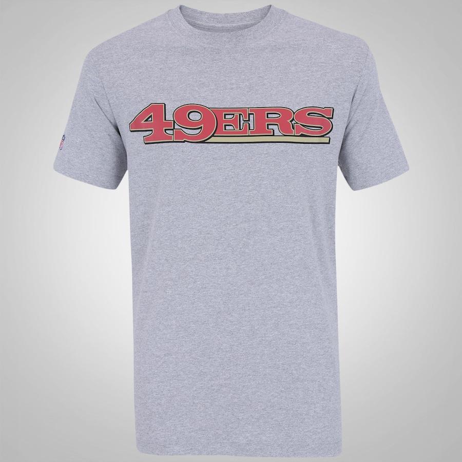 ea4f9de00dc8e Camiseta New Era San Francisco 49ers NFL – Masculina
