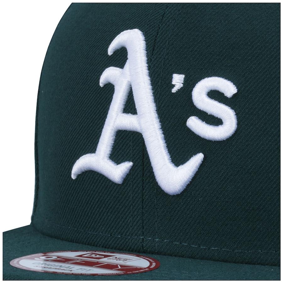 ... Boné Aba Reta New Era Oakland Athletics MLB - Strapback - Adulto ... 1fce40bb32f