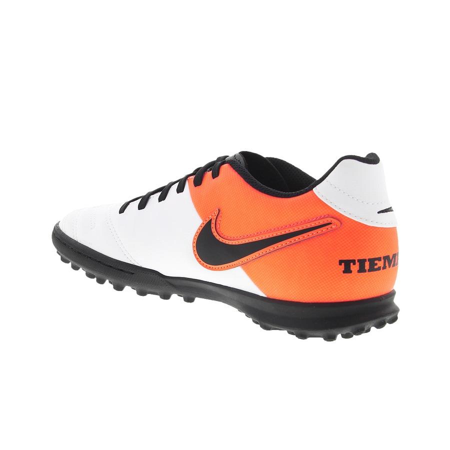Chuteira Society Nike Tiempo Rio III TF - Adulto 1396e0b1a0776