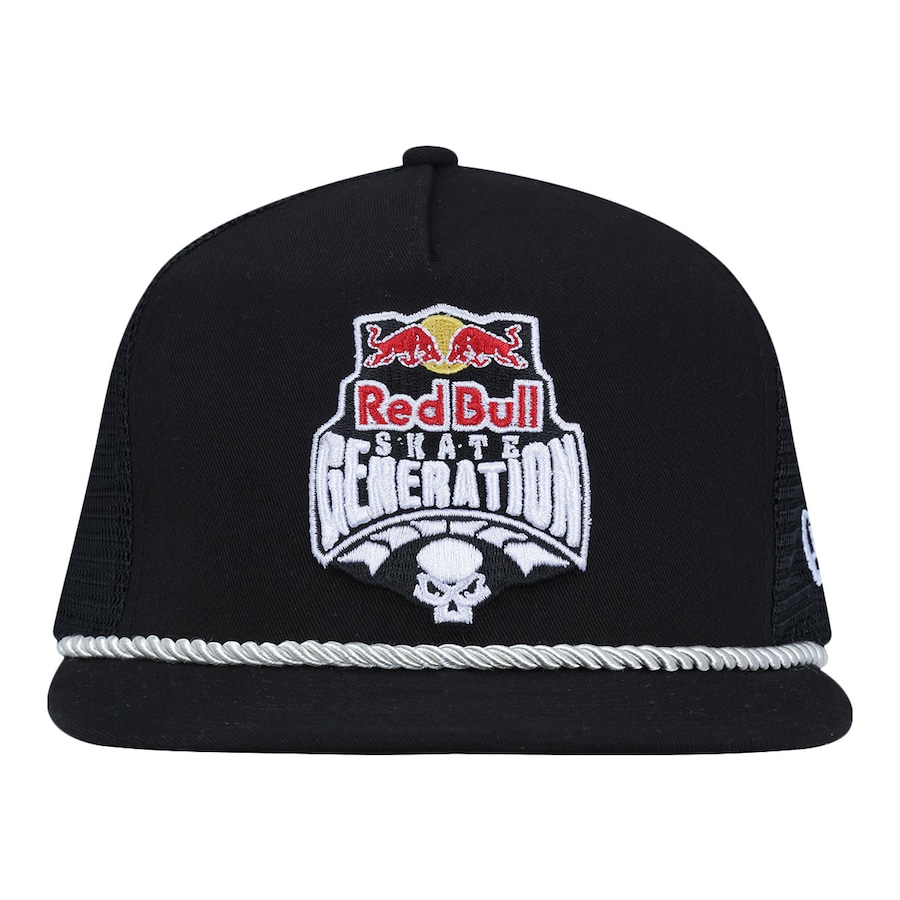 0ddc694212394 Boné Aba Reta New Era 9FIFTY Red Bull Skate Generation Cord