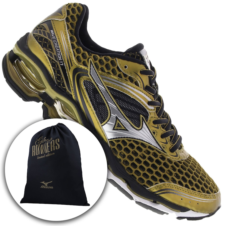 c63f22690e5 Tênis Mizuno Wave Creation 17 Golden Run - Masculino