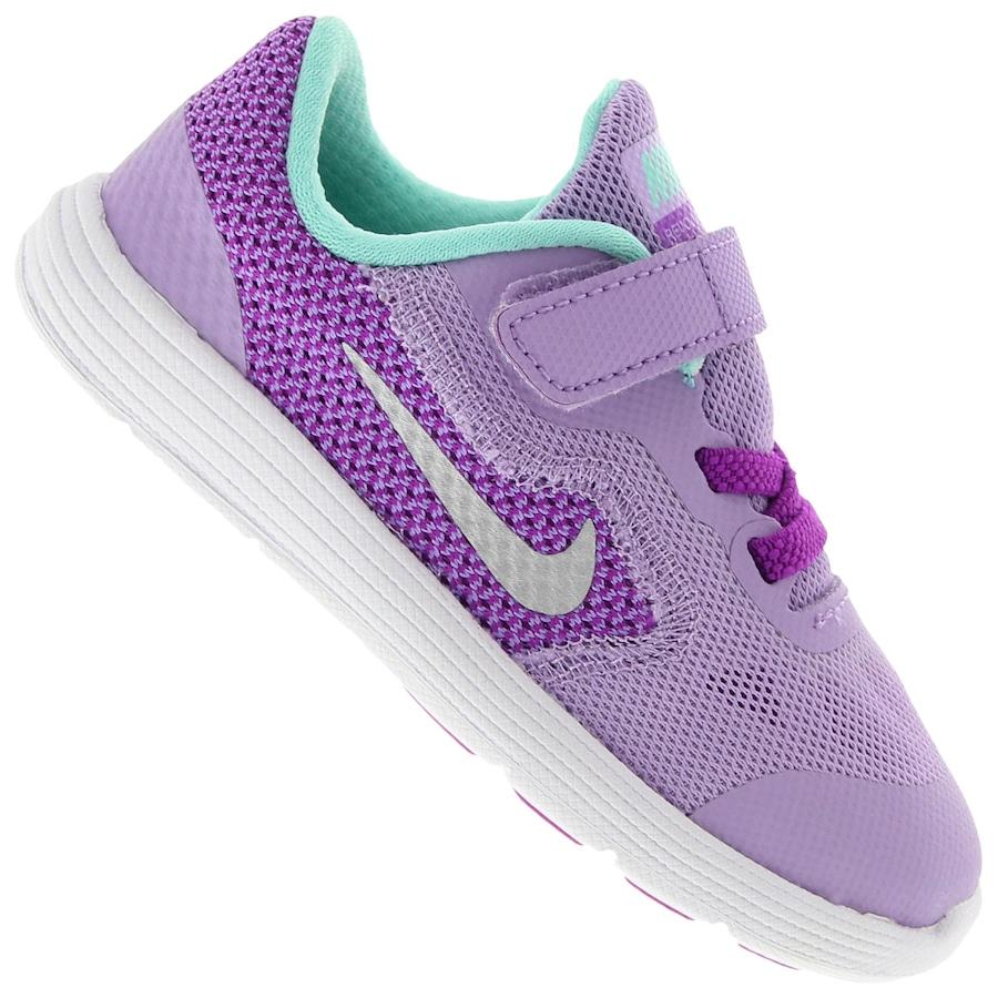 a5ff2b51b4 Tênis Nike Revolution 3 BB Feminino - Infantil