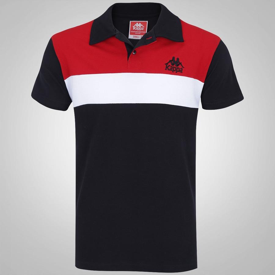 4157595cb6b16 Camisa Polo Kappa Authentic Swell - Masculina