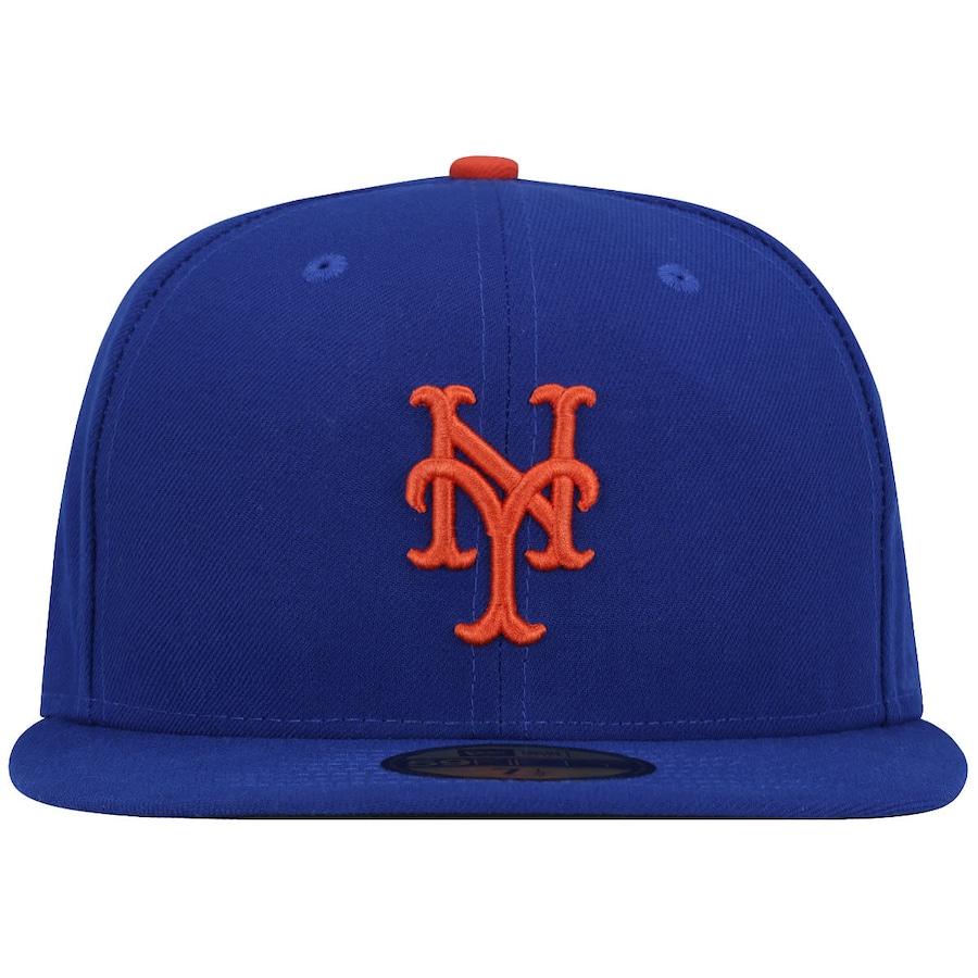 Boné Aba Reta New Era New York Mets MLB - Fechado - Adulto c3a47894925