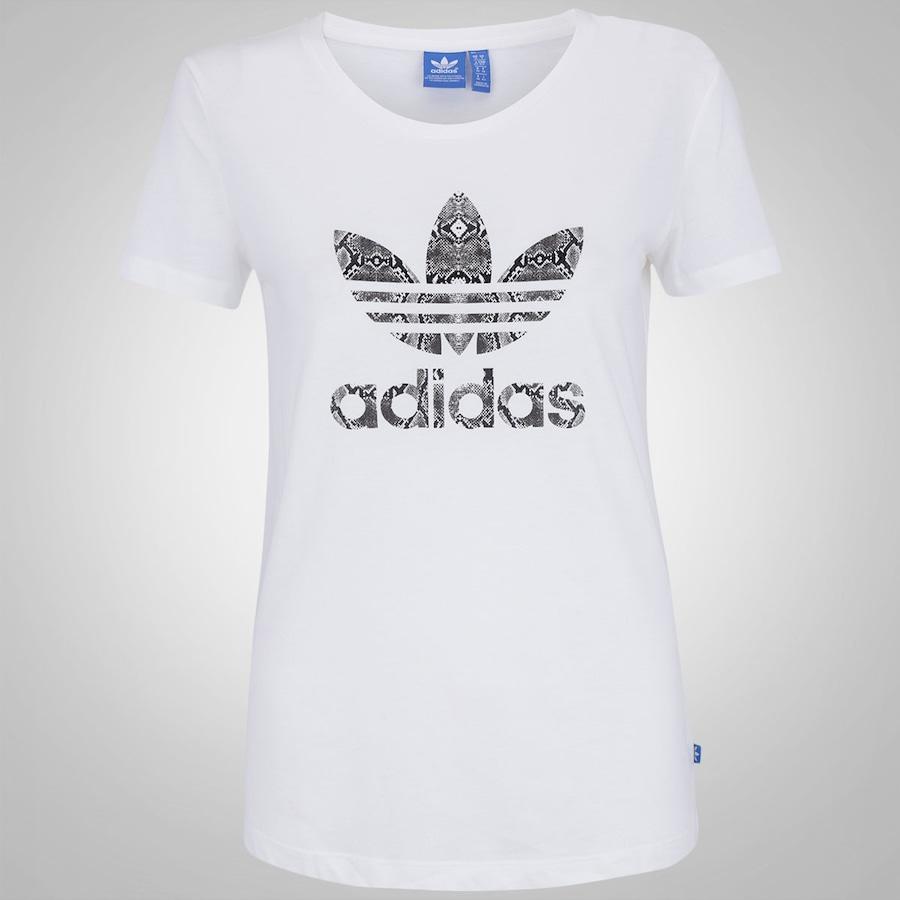 07b77eae7 Camiseta adidas Originals Trefoil - Feminina