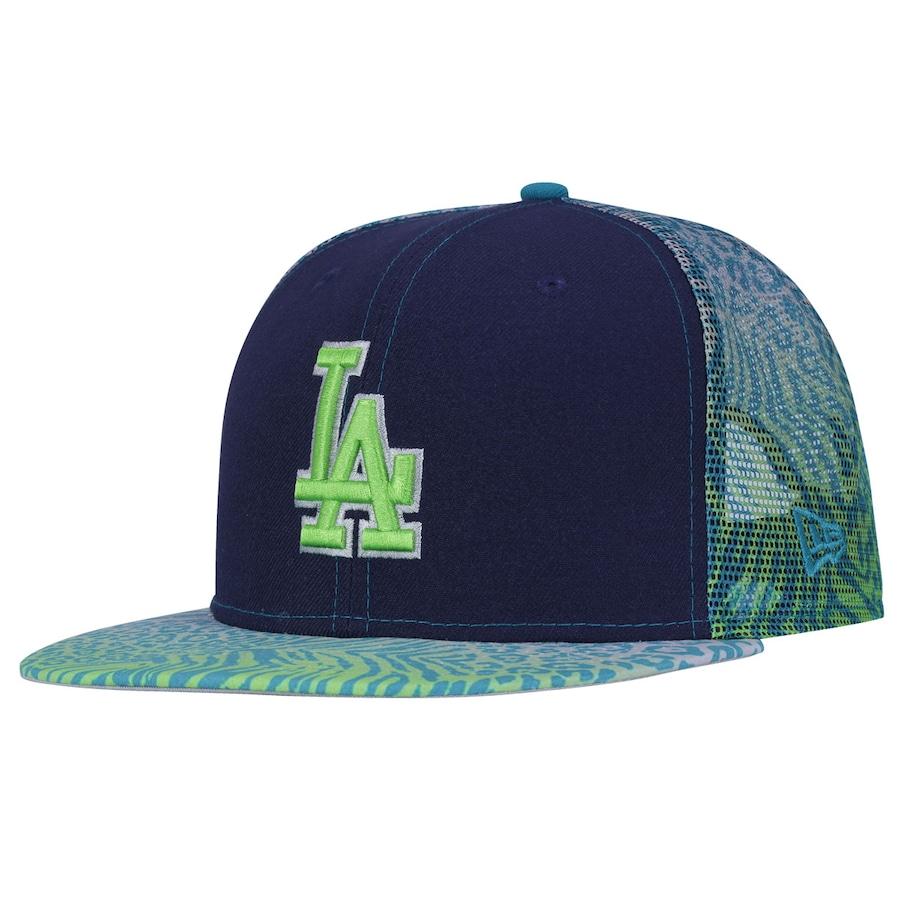 ... Boné Aba Reta New Era 9FIFTY Los Angeles Dodgers MLB - Snapback -  Trucker - Adulto ... 3df79750ebc