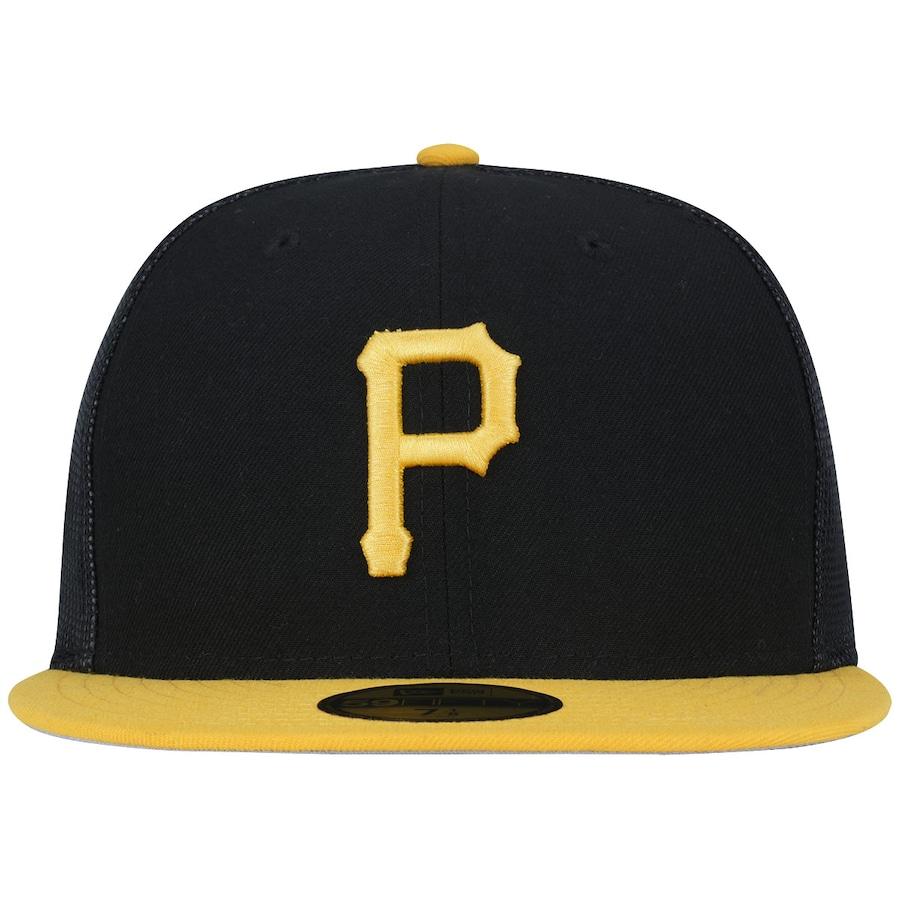 Boné Aba Reta New Era 5950 Pittsburgh Pirates MLB - Fechado fadd56657d7fb