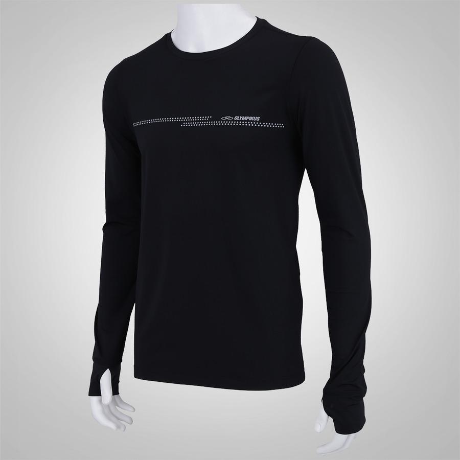 Camiseta Manga Longa Olympikus Perform - Masculina fc023726717c6