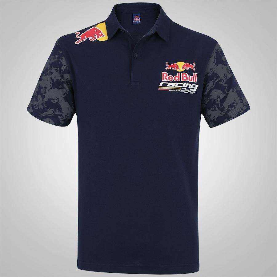 9b9918cc2d Camisa Polo Red Bull RBR Racing Piquet SC Team - Masculina
