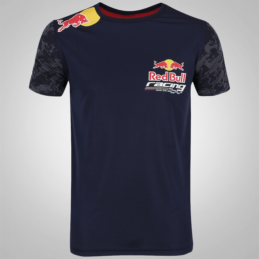 Camiseta Red Bull Racing SC Brazil Team - Masculina 6ccd825406b