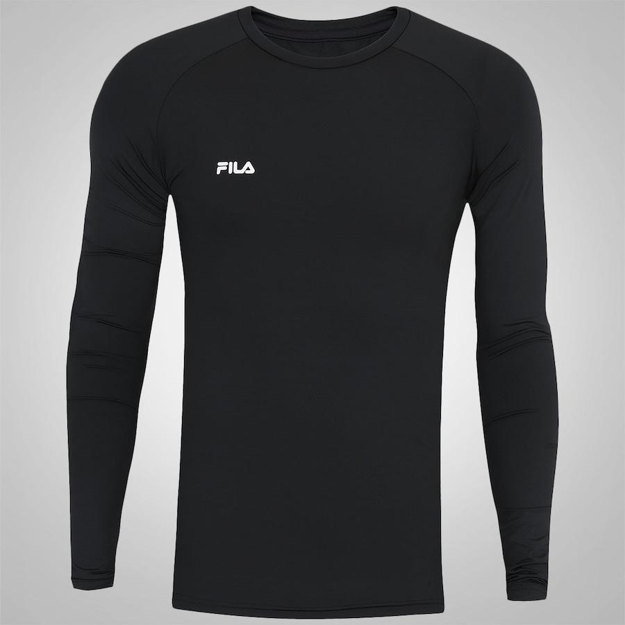 Camisa de Compressão Manga Longa Fila Max - Masculina 5c4daceaf5c49