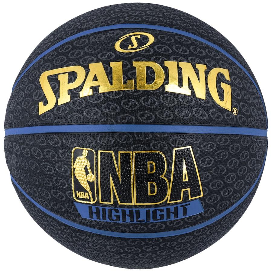 Bola de Basquete Spalding NBA Highlight 6c34e8ed023b3
