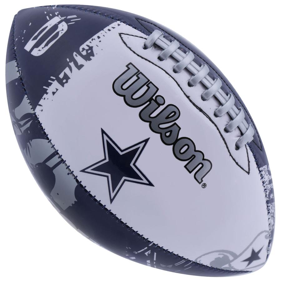 Bola de Futebol Americano Wilson NFL Team Dallas Cowboys a29f04f664b