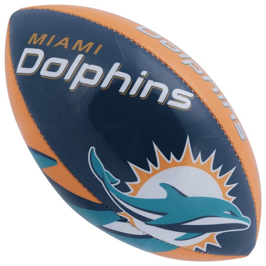 b5344ec5257db Bola de Futebol Americano Wilson NFL Team Miami Dolphins