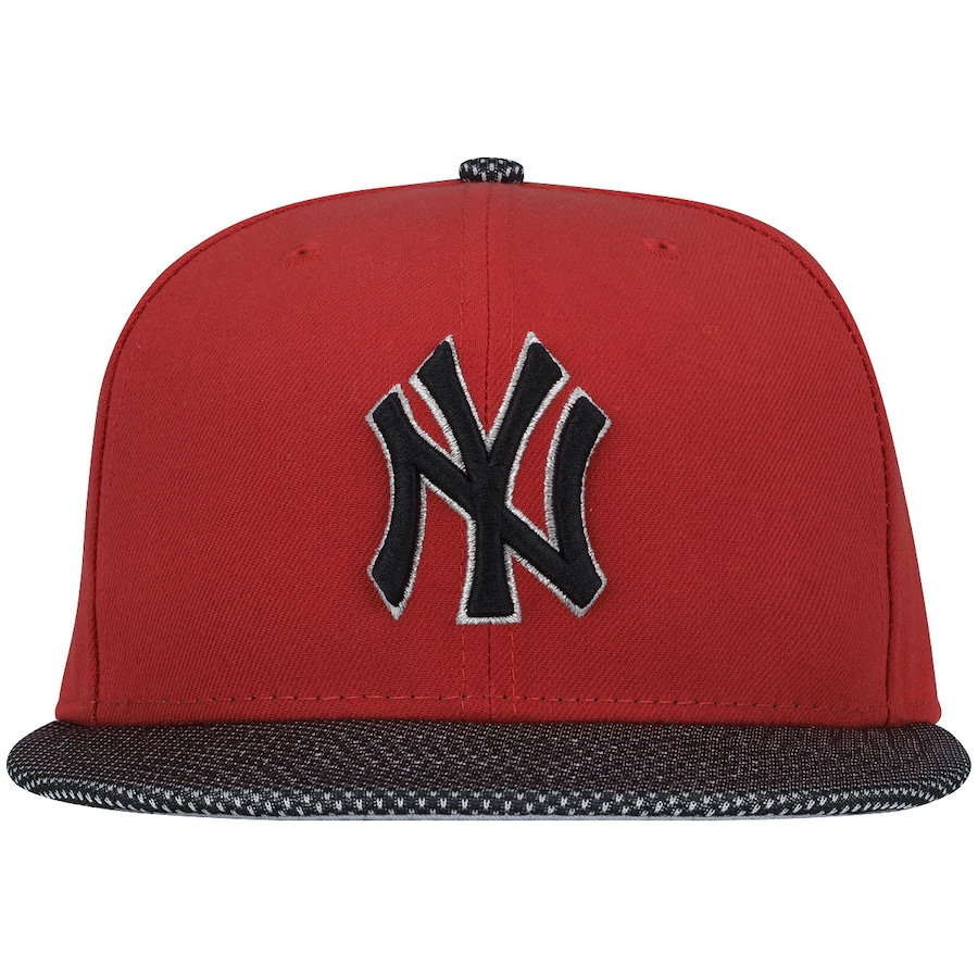 d04102974e613 Boné Aba Reta New Era 5950 New York Yankees MLB Bicolor