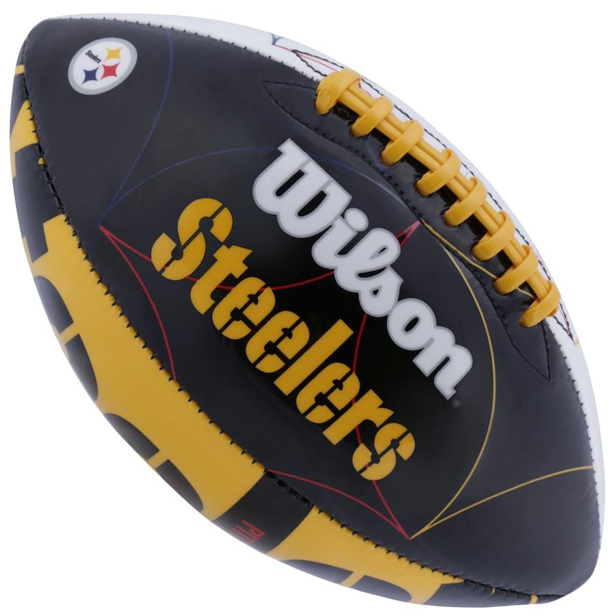 Bola de Futebol Americano Wilson NFL Team Pittsburgh Steel 3dfc1b54ad426