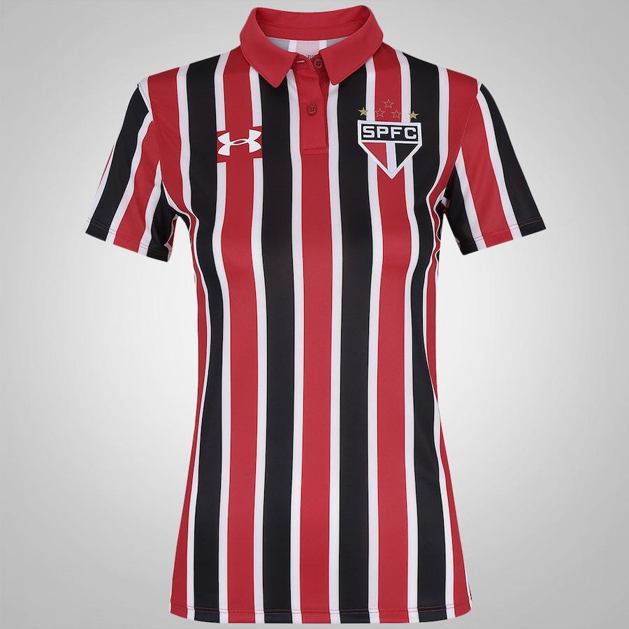 716caeb415 Camisa do São Paulo II 2016 Under Armour - Feminina