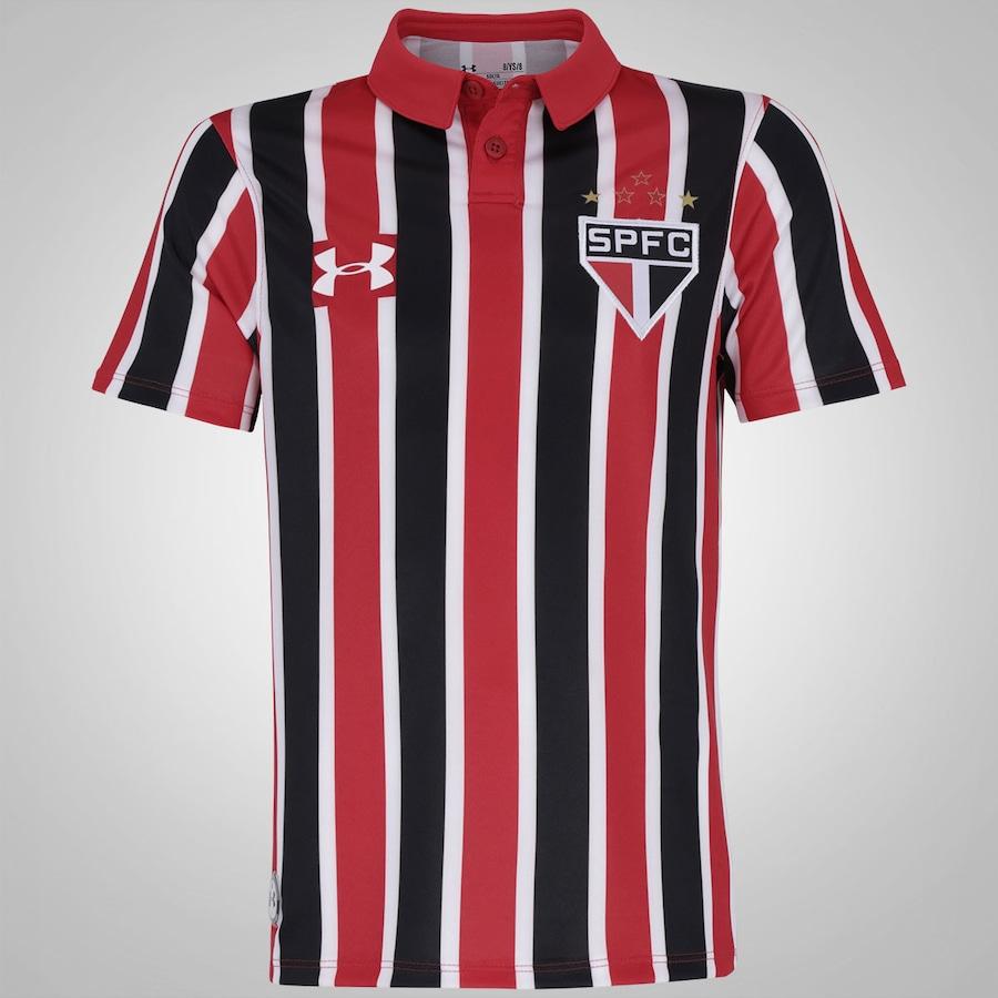 Camisa do São Paulo II 2016 Under Armour - Infantil fc50f509f73a9