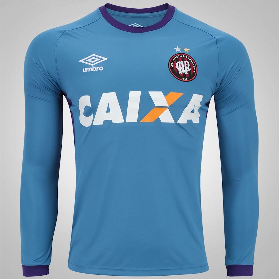 03e96917e5 Camisa Manga Longa de Treino do Atlético-PR 2016 Umbro