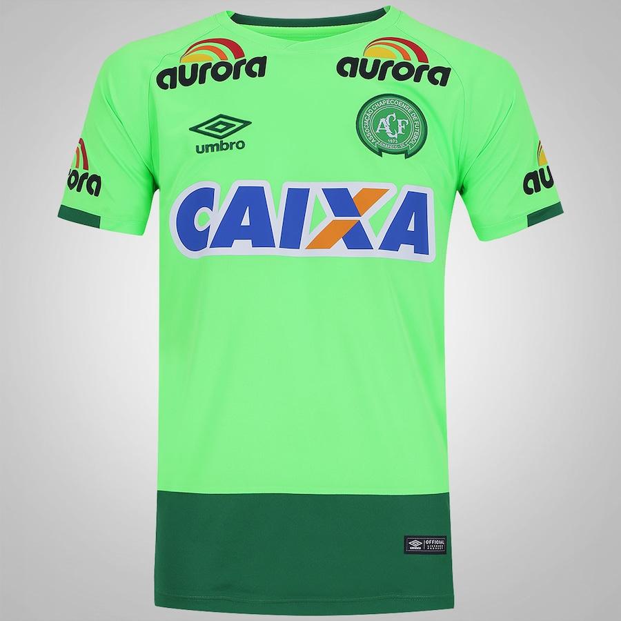 Camisa de Goleiro da Chapecoense 2016 Umbro - Masculina 9e1d8e5edd3ec