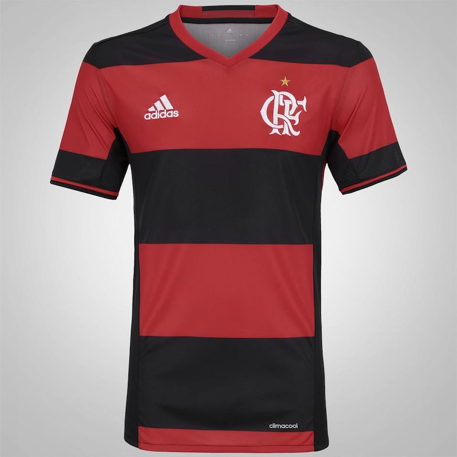 Camisa do Flamengo I 2016 adidas - Masculina 813d43e37e61b