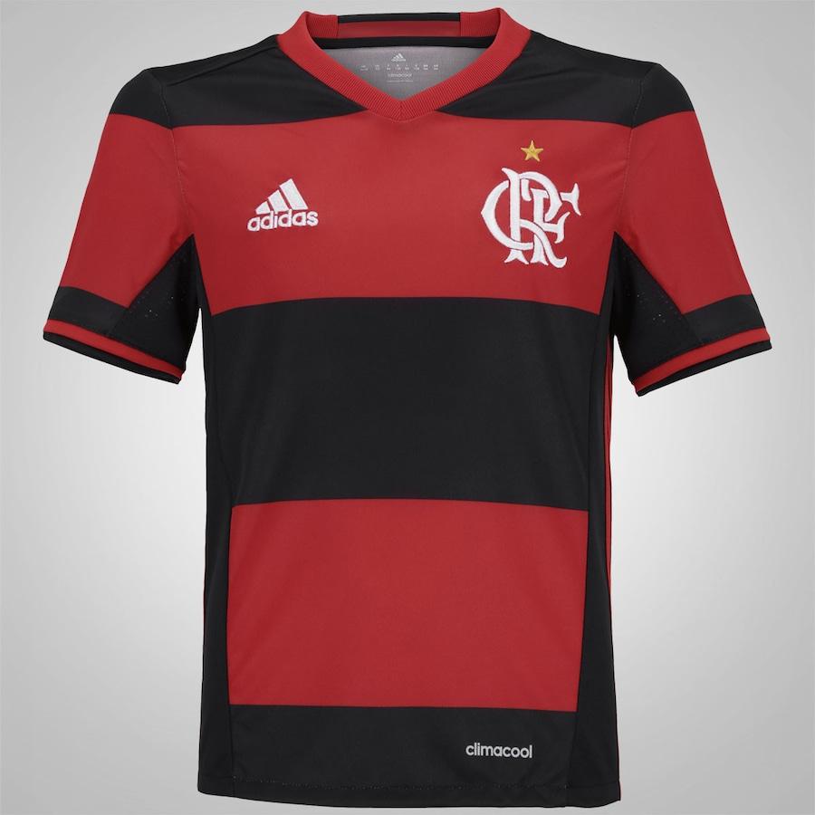 Camisa do Flamengo I 2016 adidas – Infantil a0528a491e847