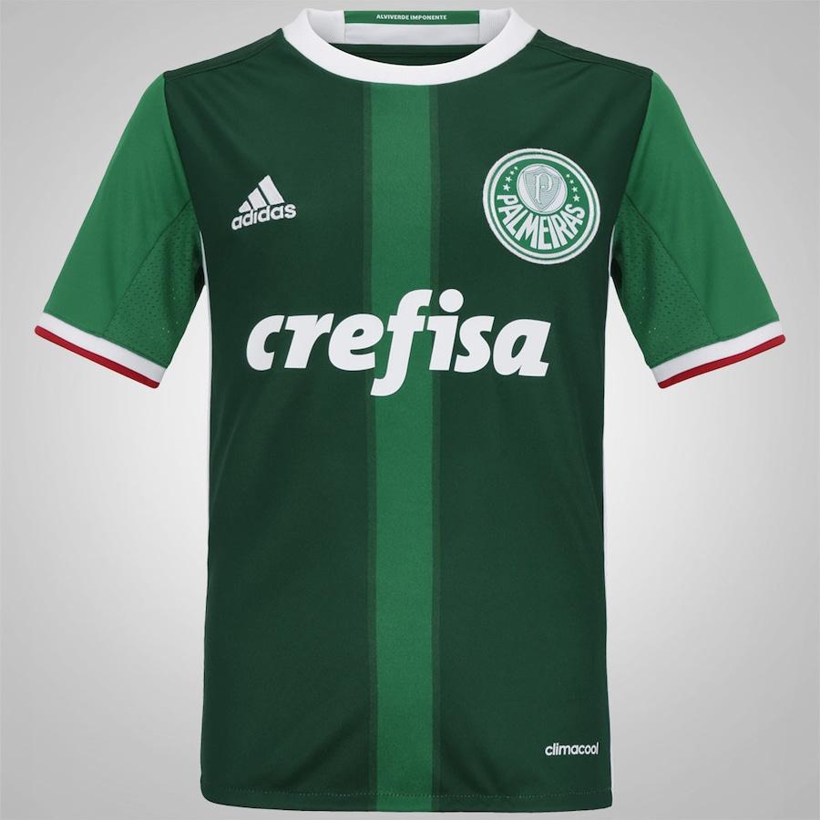 Camisa do Palmeiras I 2016 adidas - Infantil 334b28dd8dd37