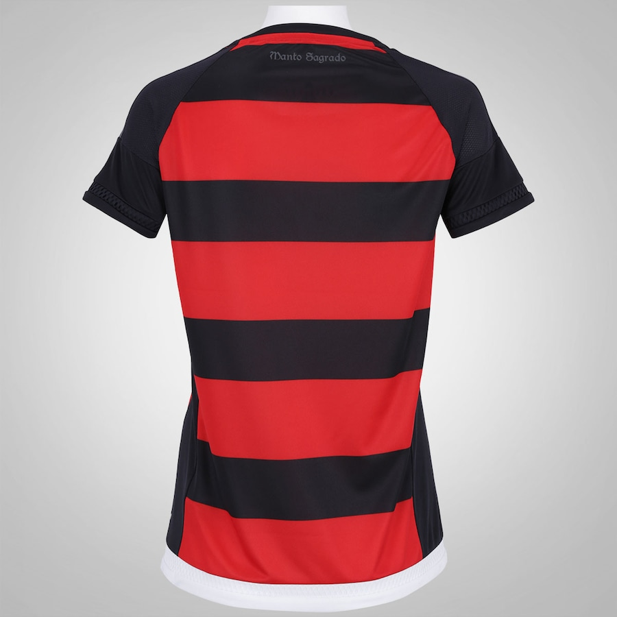 Camisa do Flamengo I 2015 adidas Gola Careca - Feminina bd3d93b3ac22a
