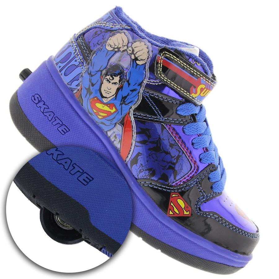 cb7eec0d41f Tênis Warner Roller Skate Superman MID - Infantil
