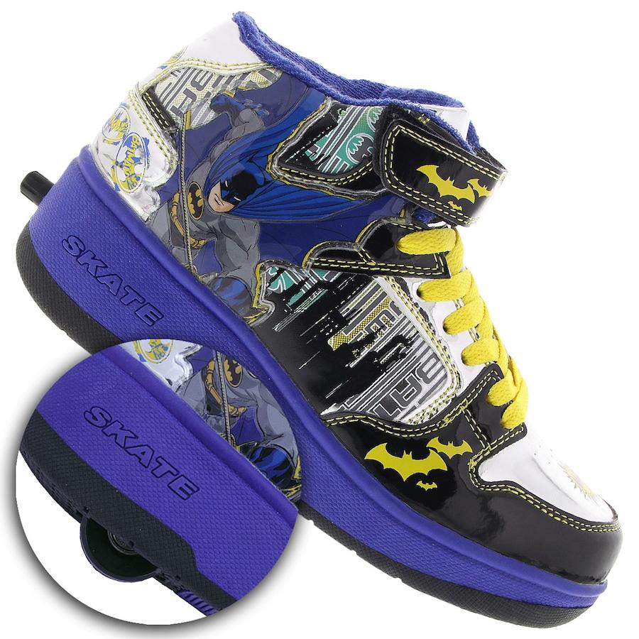 370c5930fc7 Tênis Warner Roller Skate Batman MID - Infantil