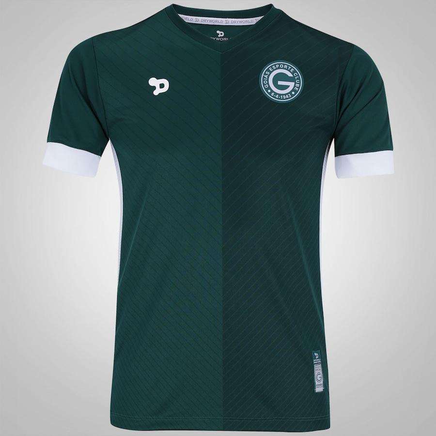 Camisa do Goiás I 2016 n°10 Dryworld - Infantil fa4ebdf06425f