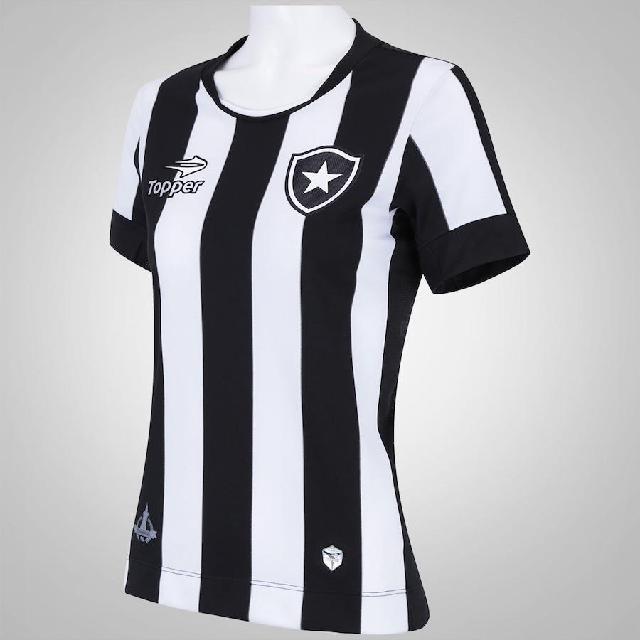 1989442691 Camisa do Botafogo I 2016 Topper - Feminina