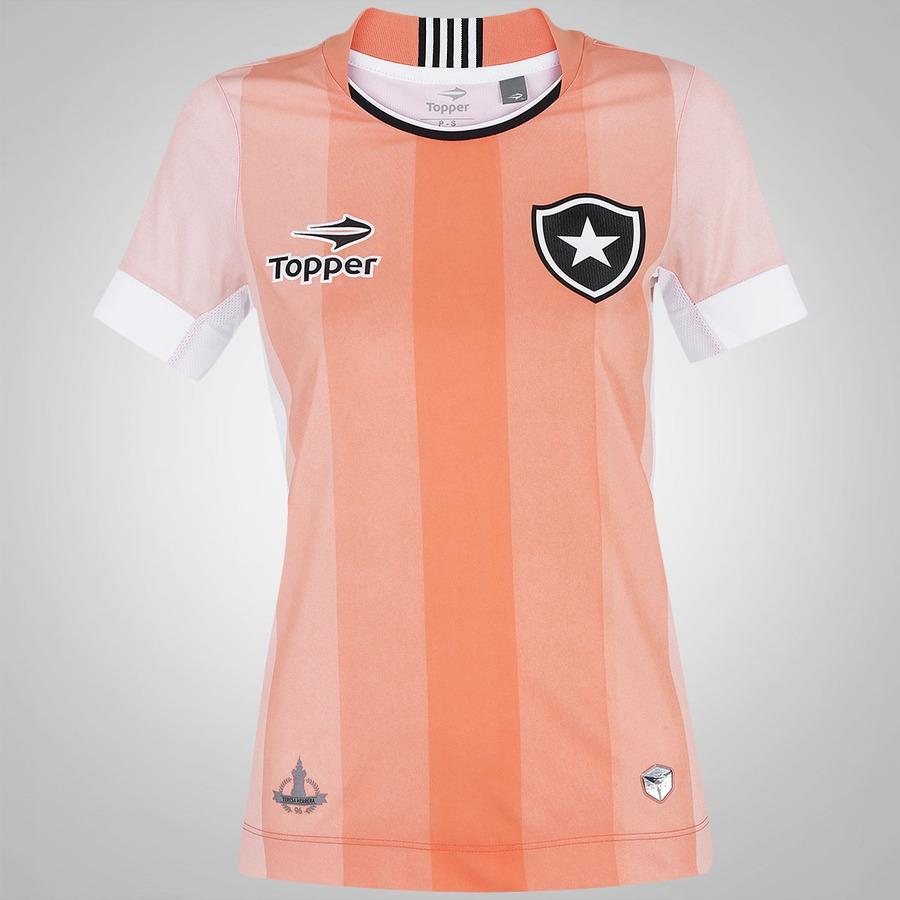 ec81a7651fa43 Camisa do Botafogo Especial Topper - Feminina