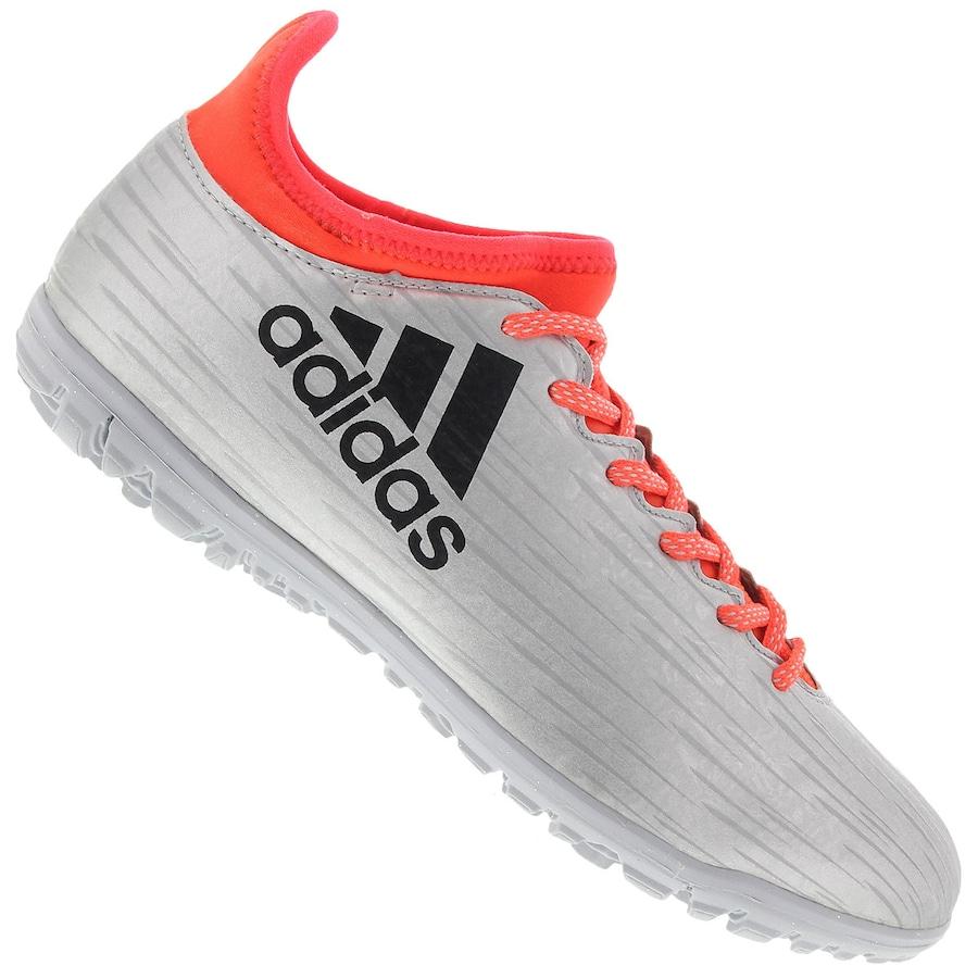 Chuteira Society adidas X 16.4 TF Power Speed - Adulto 8538704c03f07