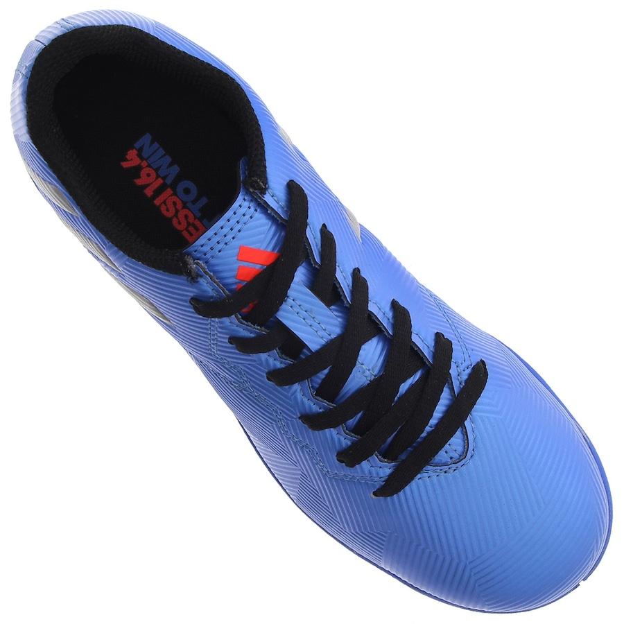 Chuteira Futsal adidas Messi 16.4 IN - Infantil b1ce46405edf6