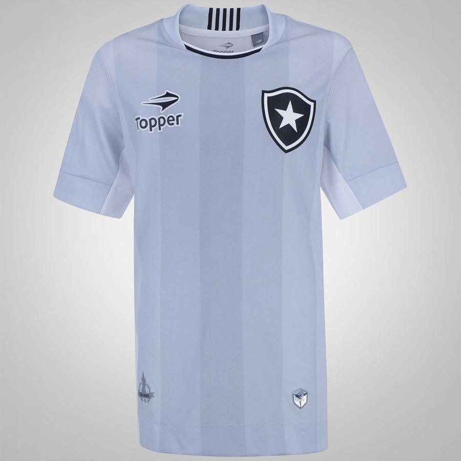 Camisa do Botafogo III 2016 Topper - Infantil 1dfcab1f616d4