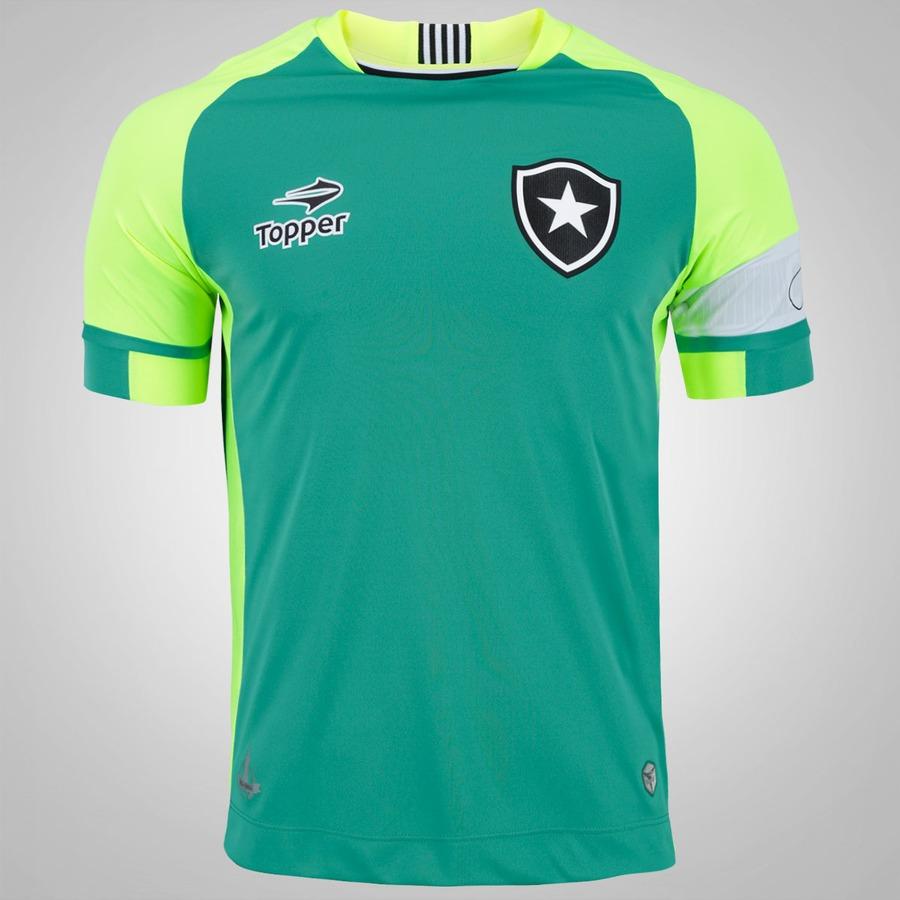 1a35a20a25 Camisa de Goleiro do Botafogo 2016 nº 1 Topper - Masculina