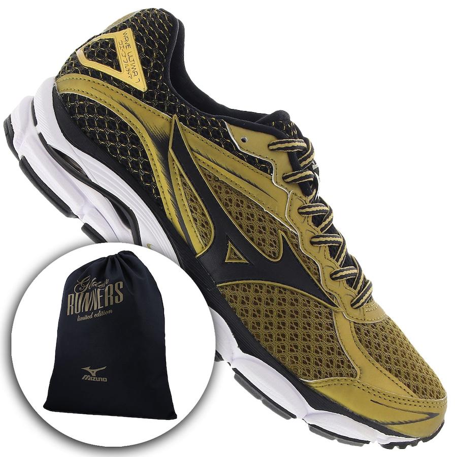 Tênis Mizuno Wave Ultima 7 Golden Run - Masculino 31ad0f702ec0c