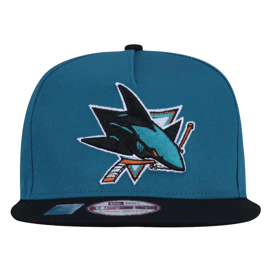 f28736fa01b95 Boné Aba Reta New Era 950 San Jose Sharks NHL - Snapback
