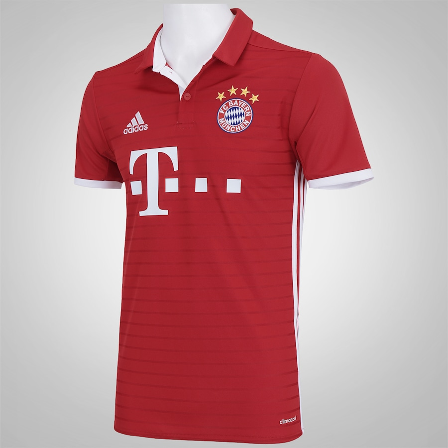Camisa Bayern de Munique I 16 17 adidas - Masculina b5ae66692354b
