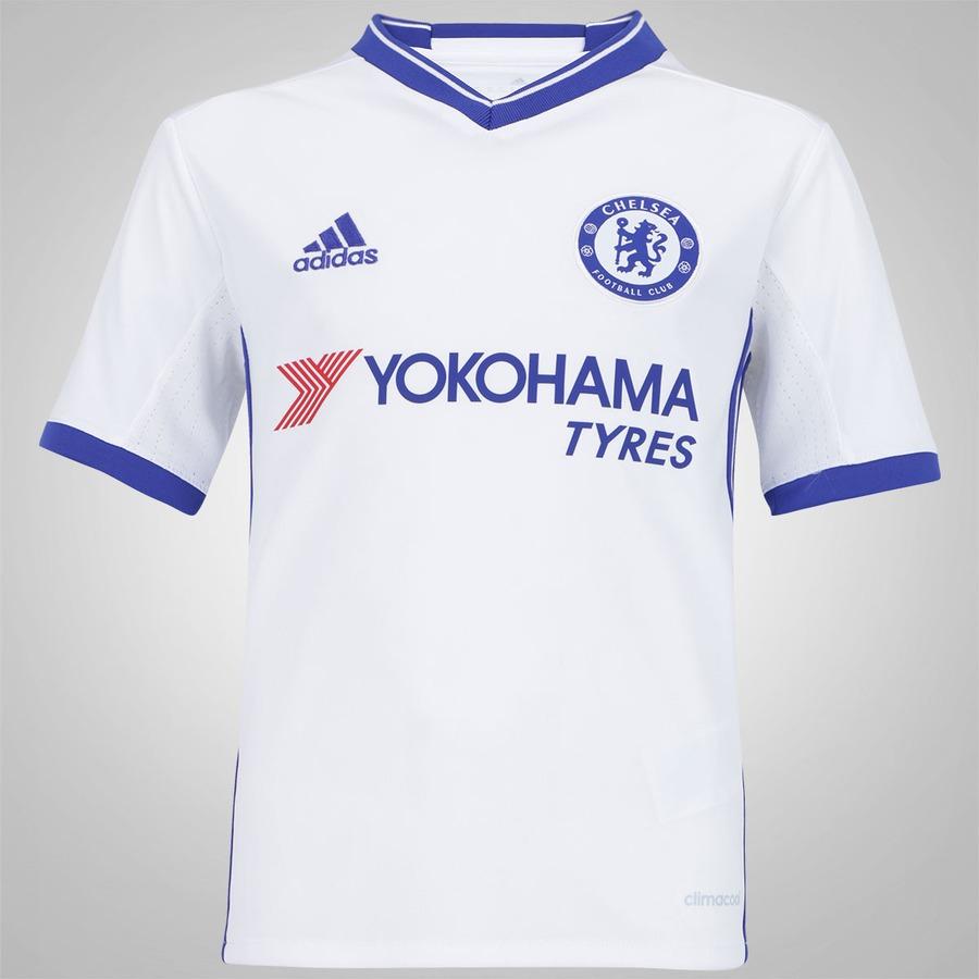836b298964 Camisa Chelsea III 16 17 adidas - Infantil