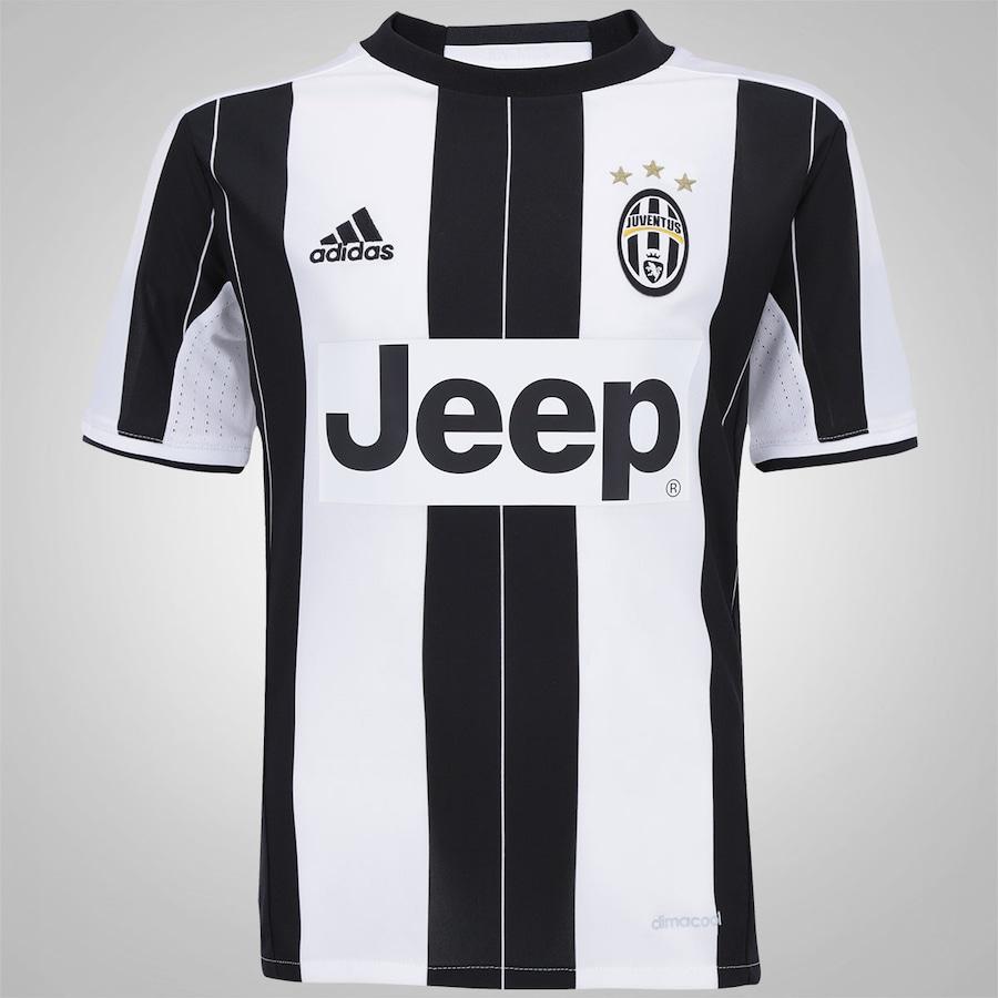 6b9cef0db Camisa Juventus I 16 17 adidas - Infantil