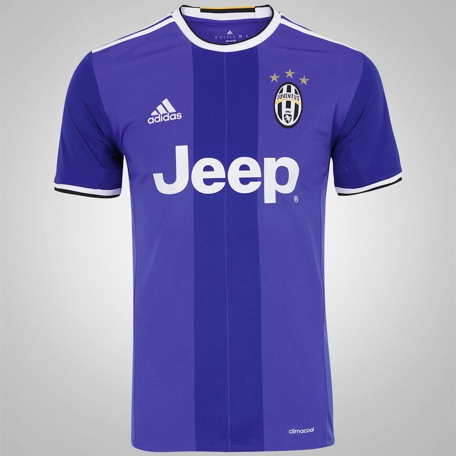 ac6c77dcd83bb Camisa Juventus II 16 17 adidas - Masculina